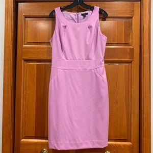 Stunning lilac 100% Italian wool dress from J.Crew